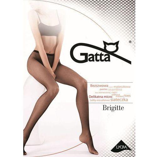 Brigitte 06 - rajstopy damskie kabaretki, Gatta
