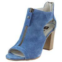 Sandały 81406 - niebieskie 197, Nessi