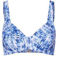 TRIUMPH Góra bikini 'Floral Cascades W pt' ciemny niebieski / biały, góra