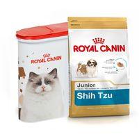 ROYAL CANIN Shih Tzu Junior 1,5kg + Pojemnik na karmę - 1,5kg