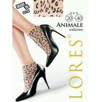 Skarpetki wzorzyste animale , Lores