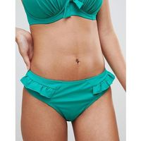 frill bikini bottom - green marki Pour moi