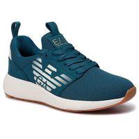 Ea7 emporio armani Sneakersy - x8x023 xcc05 00357 blue coral