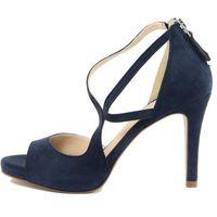 Eye sandały damskie 38 ciemnoniebieski, kolor niebieski