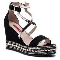 Sandały LIBERO - 1030 135, kolor czarny