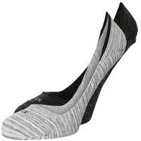 Calvin Klein Underwear 2 PACK Stopki black marble heather/black rain heather, bawełna