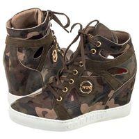Sneakersy moro zielone b3909 (ci217-a), Carinii, 36-40