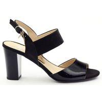 Sandały damskie lakierowane caprice 28307 marki Buty caprice
