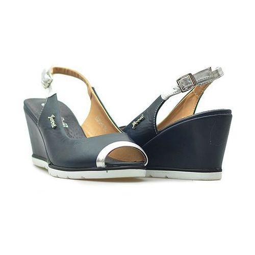 Sandały sa76-1 niebieskie marki Jezzi