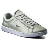 Sneakersy - carnaby evo 118 1 spw 7-35spw00062q5 lt gry/wht marki Lacoste