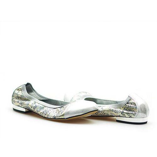 Baleriny 1402/s12+s56 srebro, Gamis