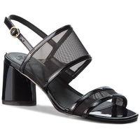 Sandały GUESS - Sedonna2 FLSE22 FAB03 BLACK, w 8 rozmiarach