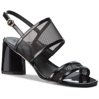Sandały GUESS - Sedonna2 FLSE22 FAB03 BLACK, w 9 rozmiarach