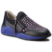 Sneakersy - d omaya c d640sc 01585 c4pn8 dk navy/violet, Geox, 37-41