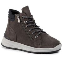 Sneakersy - 2-26278-23 dk.grey comb 225, Marco tozzi, 37-41