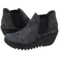 Fly london Botki yat snake deep/black p500506017 (fl143-c)