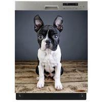 Mata magnetyczna na zmywarkę - zamyślony pies 9726 marki Stikero
