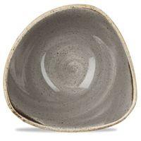 Churchill Miska trójkątna 0,26 l, szara | , stonecast peppercorn grey