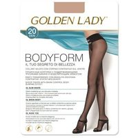 Rajstopy bodyform 20 den 4-l, czarny/nero. golden lady, 2-s, 3-m, 4-l marki Golden lady