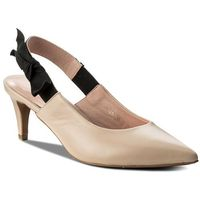 Sandały - be my girl s33 beżowy marki L37