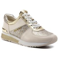 Sneakersy MICHAEL MICHAEL KORS - Allie Trainer 43R9ALFS3D Silver/Gold, kolor żółty