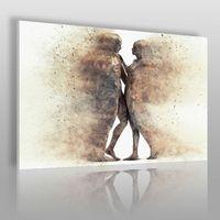 Metafizyka miłości - nowoczesny obraz na płótnie, 38401