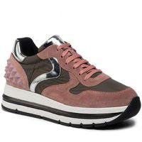 Sneakersy - maran studs 0012014312.03.1m41 rosa/militare/bianco, Voile blanche, 35-41