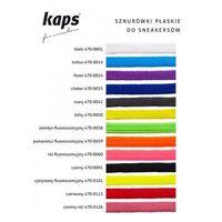 Kaps Sznurówki płaskie do tenisówek 140cm 13 kolorów