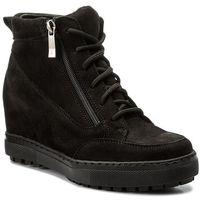 Sneakersy - 0489 czarny nubuk, Wasak