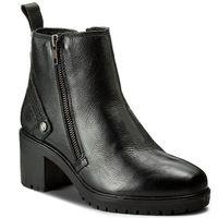 Botki WRANGLER - Sierra Zip Leather WL172513 Black 62, w 2 rozmiarach