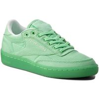 Reebok Buty - club c 85 canvas bd2840 mint green/white