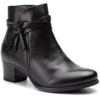 Botki CAPRICE - 9-25359-23 Black Nappa 022, kolor czarny