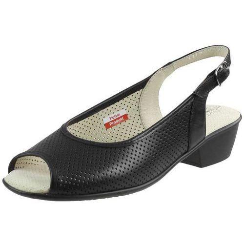 Sandały Axel 2274 - Czarne, kolor czarny