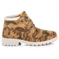 Buty ideal shoes Niskie traperki za kostkę