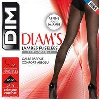 Rajstopy ze zwężanymi nogawkami, półprzezroczyste marki Dim