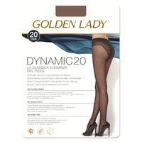 GOLDEN LADY Dynamic 20 • Rozmiar: 3/M • Kolor: CASTORO