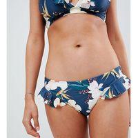 Peek & Beau Exclusive floral frill bikini bottom - Multi, bikini