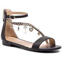 Sandały - radhika fl6rad lea03 black marki Guess