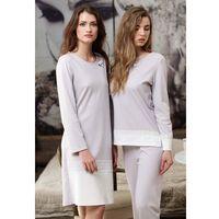 Piżama Cana 384 S-XL dł/r XL, brązowy/mocca, Cana