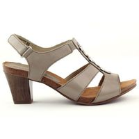 Buty caprice Sandały damskie na rzep caprice beż