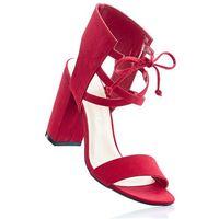 Sandały czerwony marki Bonprix