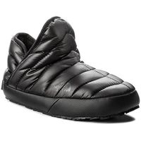 Kapcie THE NORTH FACE - Thermoball Traction Bootie T933IHYWY-050 Shiny Tnf Black/Beluga Grey, 1 rozmiar