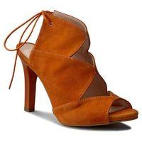 Sandały OLEKSY - 2151/B84/000/000/000 Zamsz Arancio, w 4 rozmiarach