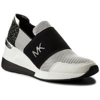 Sneakersy MICHAEL KORS - Felix Trainer 43S8FXFS1A Opticwht/Blk, kolor czarny