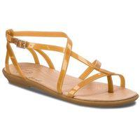 Sandały - isabella gladiator sandal w 204914 dark gold/gold, Crocs, 36.5-41.5