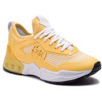 Sneakersy GUESS - Teckie FL6TEC FAB12L GOLD, kolor żółty