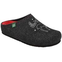Kapcie Dr BRINKMANN 320539-9 Antracyt Pantofle domowe Ciapy zdrowotne - Antracytowy ||Grafitowy (4061168008662)