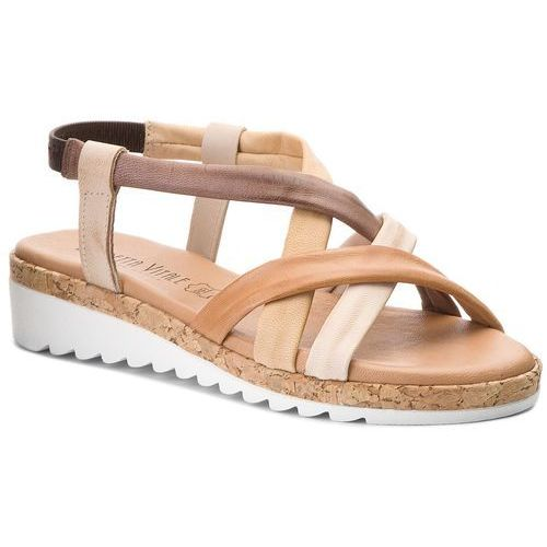 Sandały - c100 multi marron marki Loretta vitale