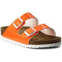 Klapki BIRKENSTOCK - Arizona 0057561 Patent Neon Orange, kolor pomarańczowy