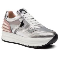 Voile blanche Sneakersy - may power mesh 0012013503.01.1q19 argento/rosa